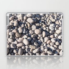 River stones on bank of Oregon river Laptop & iPad Skin