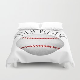 Pitch Please Duvet Cover