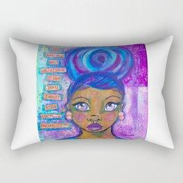 Take Courage Rectangular Pillow