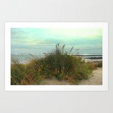 Ocean Sands Art Print