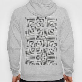 circular dots pattern Hoody