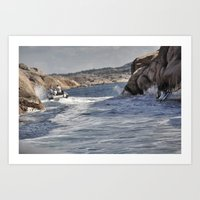 sweden Art Prints featuring Sweden by Jan Helge