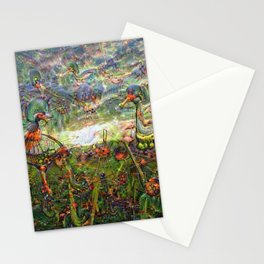 DeepDream Pictures, Landscapes Stationery Cards