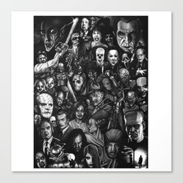 Classic Horror Guice Canvas Print