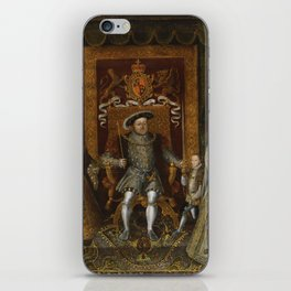 The family of Henry VIII iPhone Skin