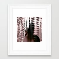 anonymous Framed Art Prints featuring anonymous by MehrFarbeimLeben