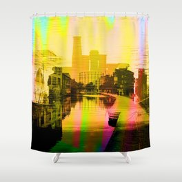 Regents Rooftops - Dream Series 004 Shower Curtain