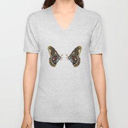 Giant Butterfly  Unisex V-Neck