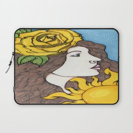 Yellow Rose of Summer Laptop Sleeve