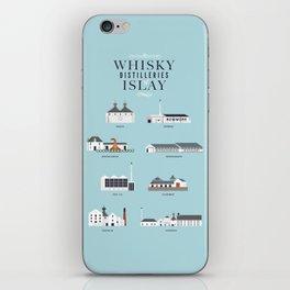 Whisky Distilleries of Islay iPhone Skin