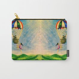 BALLOON LOVE: Flying Away Carry-All Pouch