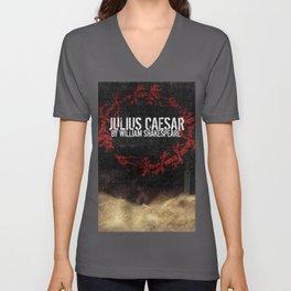 Julius Caesar by William Shakespeare, Milwaukee 2016 Unisex V-Neck