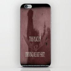 "'Orlock, the Killer Vampire-Bat'- from "" Nosferatu vs. Father Pipecock & Sister Funk (2014) iPhone & iPod Skin"