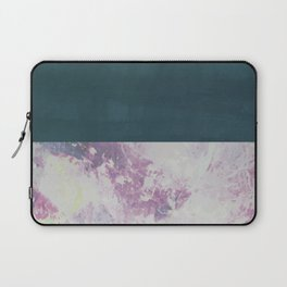 Bit of Brushstroke - Teal & Pink Laptop Sleeve