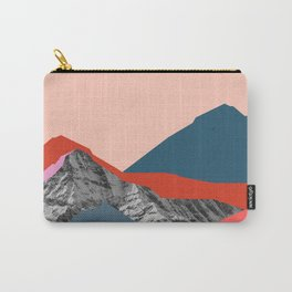 Graphic Mountains Carry-All Pouch