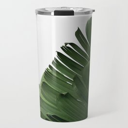Minimal Banana Leaves Travel Mug