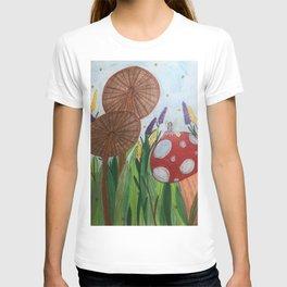 Fairy Among the Mushrooms T-shirt