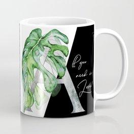 All you need is love. Silver Coffee Mug