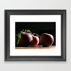 Autumn Apples II (Honoree, BlogHer 2015 Voices of the Year, Photo Category) Framed Art Print