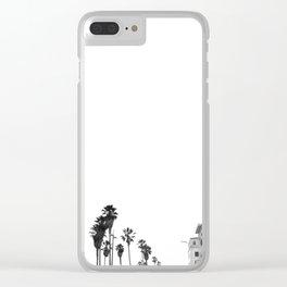 venice beach Clear iPhone Case