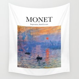 Monet - Impression, Soleil Levant Wall Tapestry