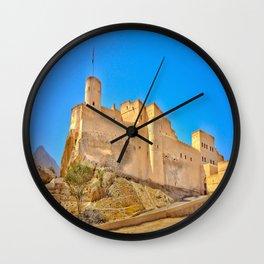 Nakhal Fort Oman Wall Clock