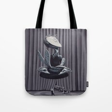 Liberation, With String Tote Bag