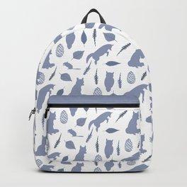 Winter Fox (Tide) Backpack
