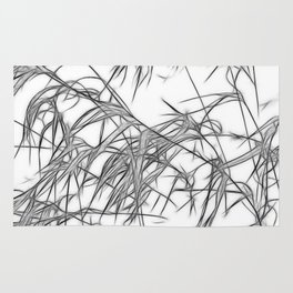 Winter Grasses II Rug