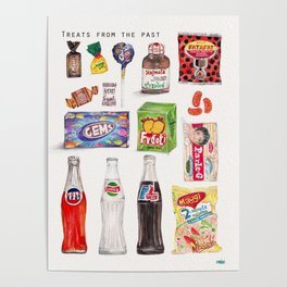 Treats from the Past Poster