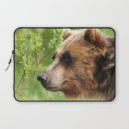 Smokey Sniffing the Breeze Laptop Sleeve