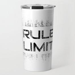 No Rules No Limits Travel Mug