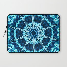 Psychedelic Blues Laptop Sleeve