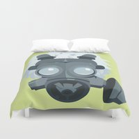 clear Duvet Covers featuring Clear. by Dani Does Art