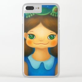 FROG PLANET Clear iPhone Case