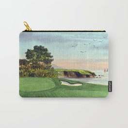 Pebble Beach Golf Course 5th Hole Carry-All Pouch