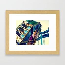 Boardwalk Ride Framed Art Print