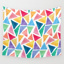 Watercolor Pattern Wall Tapestry