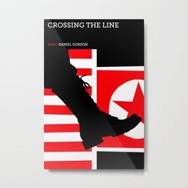 Crossing the Line Metal Print