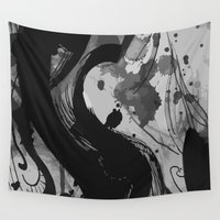 gemma Wall Tapestries featuring Ink by Magdalena Hristova