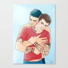 magic hug Canvas Print