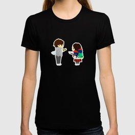 a long waiting T-shirt
