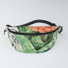 Collage of florid nature Fanny Pack