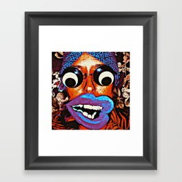 Female  Framed Art Print