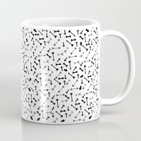 arrows Mugs featuring Arrows by Kakel