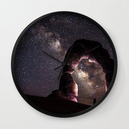 Watching stars Wall Clock