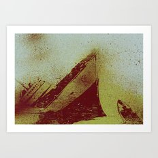 All The Ships Had Holes Art Print