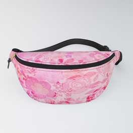 Red roses Fanny Pack
