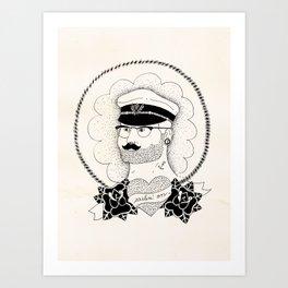 Sailin' on Art Print