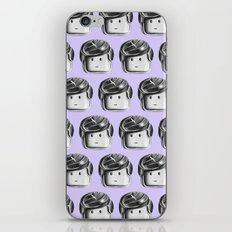 Minifigure Pattern - Violet iPhone & iPod Skin